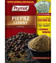 PRYMAT- PIEPRZ CZARNY MIELONY 50G